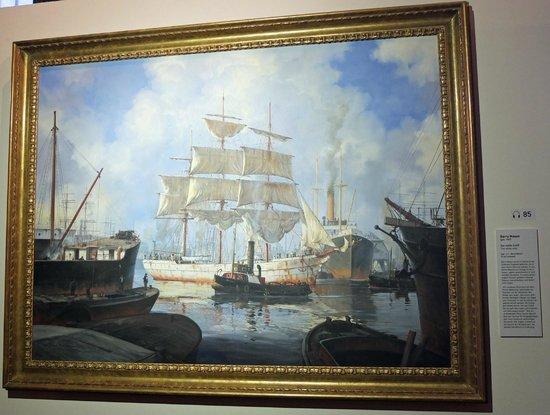 International Maritime Museum: The White Ship by Barry Mason b. 1947