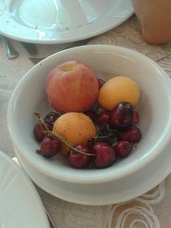 Hotel Kadett: frutta