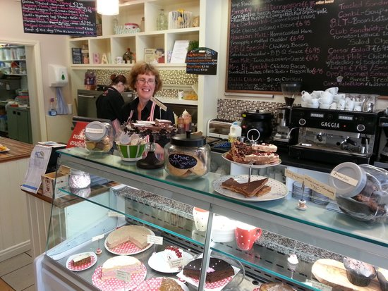 Mrs B's Coffee House: Owner, Ann Conaghan