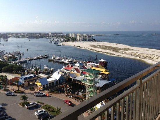 Emerald Grande at HarborWalk Village: From Our Balcony