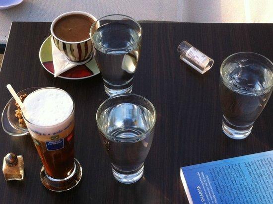 Aegea Hotel : Καφεδες!!