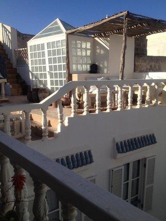 Riad Baladin : 屋上、テラスです