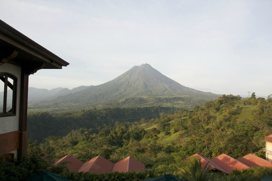 The Springs Resort and Spa : The volcano