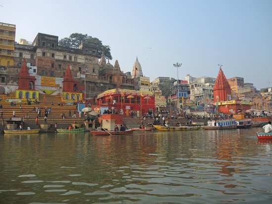 Ganges River: A view of the ghats