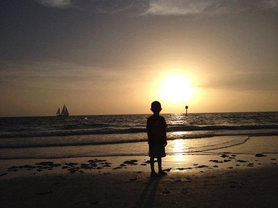 Clearwater Beach : Beautiful sunset