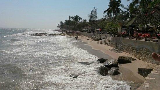 Hua Hin Beach : Start of the Beach with Hilton Hotel