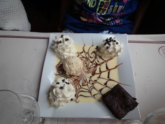 Restaurant Baudy: brownie