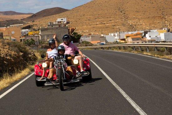 Cool Runnings: The Trike behind us