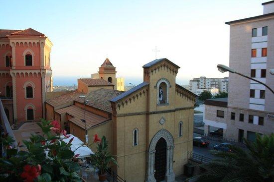 La Dolce Vita - Luxury House: Panorama sulla chiesa di San Calogero e il mare sullo sfondo