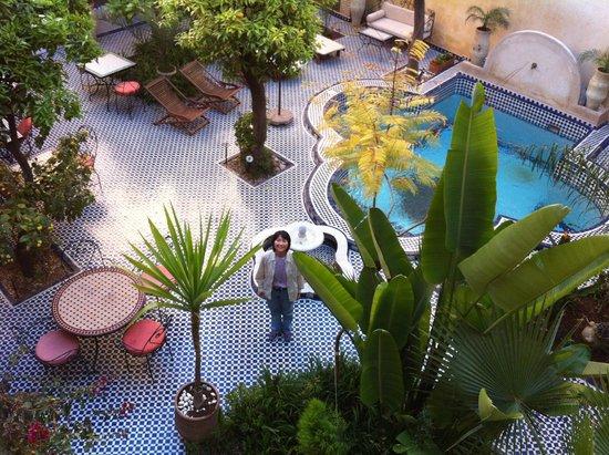 Ryad Salama Fes : Patio/Inner Courtyard