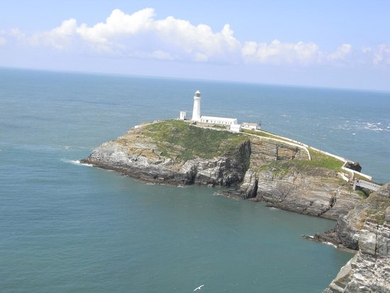View of South stack Lighthouse