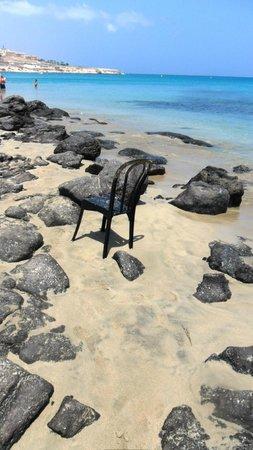Sotavento Beach Club: Weg zum Strand
