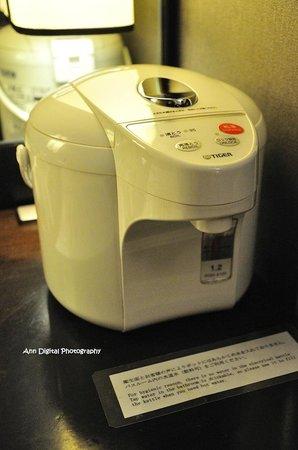 Hotel Monterey Kyoto: 虎牌熱水壺, 好實用!!