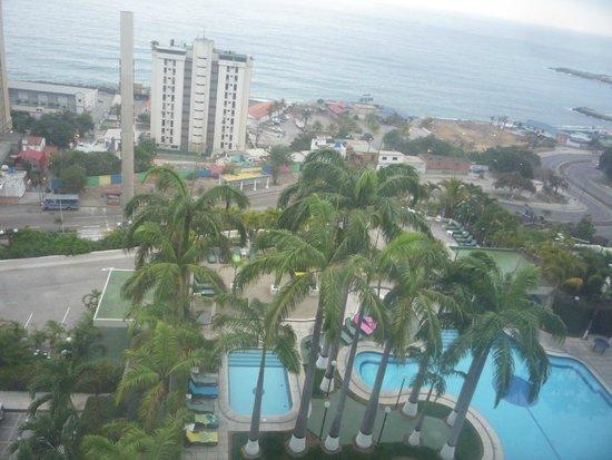 Hotel Ole Caribe: Vista mare