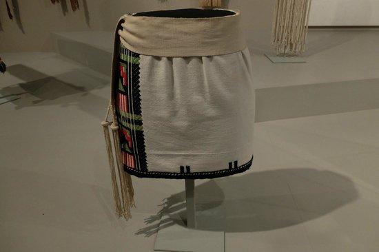 Denver Art Museum: Hopi kilt 1800s