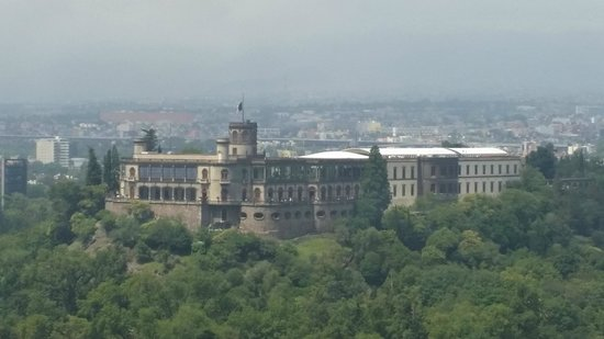 Grand Fiesta Americana Chapultepec: View of Chapultepec Castle