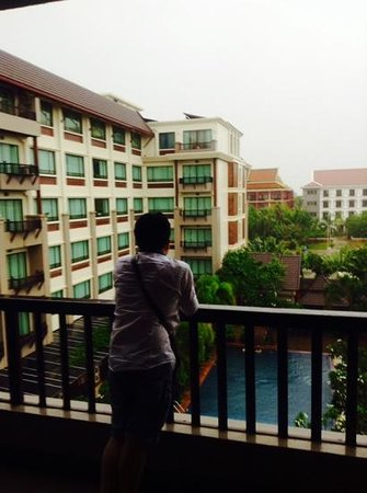 Royal Empire Hotel: View from the Premium balcony