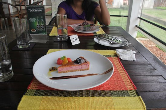 AVANI Bentota Resort & Spa: dessert fro one