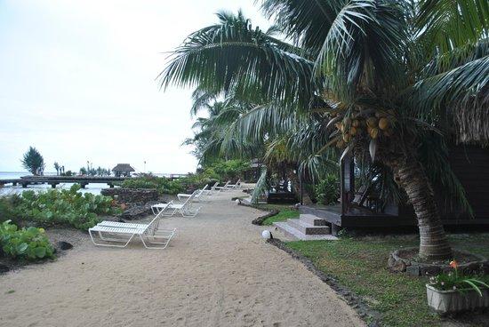 Hotel Kaveka : Orilla de mar