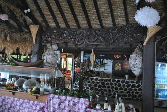 Hotel Kaveka : La barra del comedor