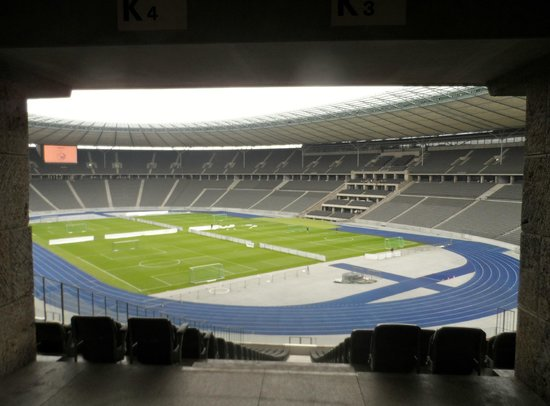 Stade olympique (Olympiastadion) : View from Executive boxes