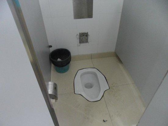 Klassische Gärten von Suzhou: There are also Western style toilets available