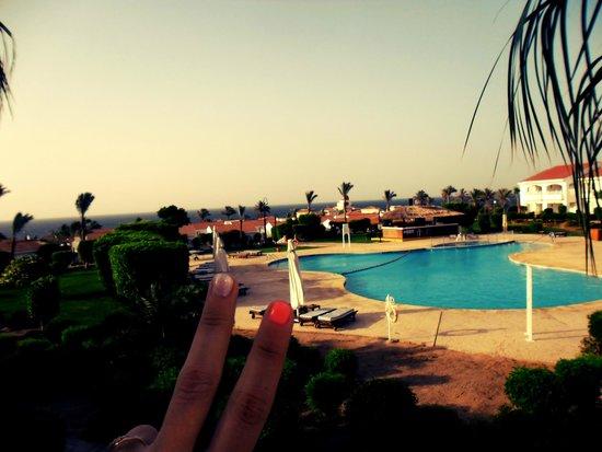 Sheraton Sharm Hotel, Resort, Villas & Spa: Вид из номера