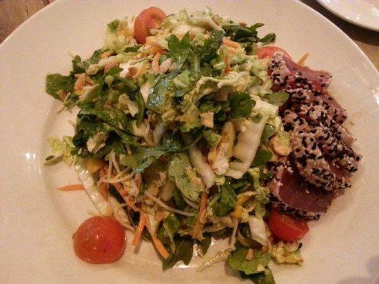 Del Frisco's Grille: Tuna salad
