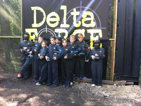 Delta Force Paintball Gerrards Cross