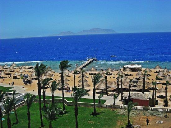 Sheraton Sharm Hotel, Resort, Villas & Spa: Пляж