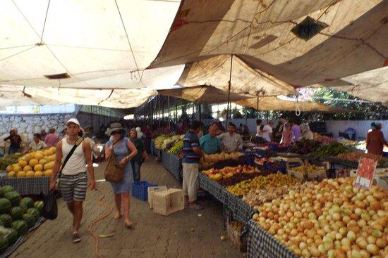 Fethiye Market: more interesting fruit and sices