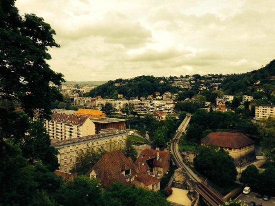 La Citadelle de Besançon : uitzicht