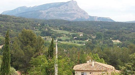 Atelier Cezanne: es la montaña de alguno de sus cuadros