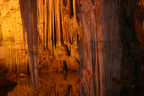 Grotte de Neptune (Grotta di Nettuno) : Per dentro portate flash