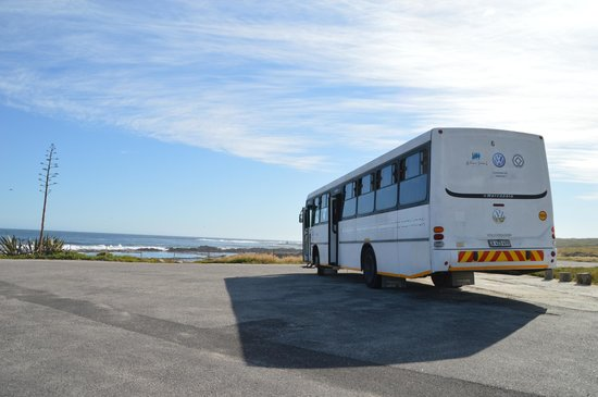 Robben Island: The bus that takes you around the island