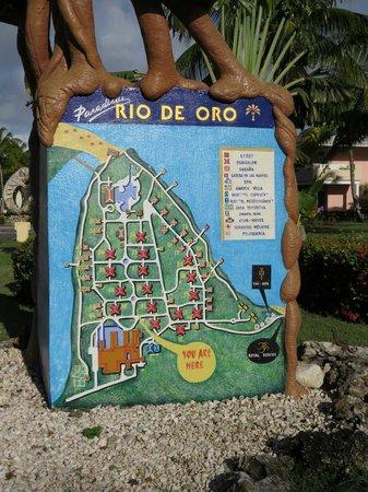 Paradisus Rio de Oro Resort & Spa : Pour se retrouver