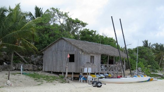 Paradisus Rio de Oro Resort & Spa: Le pavillon nautique