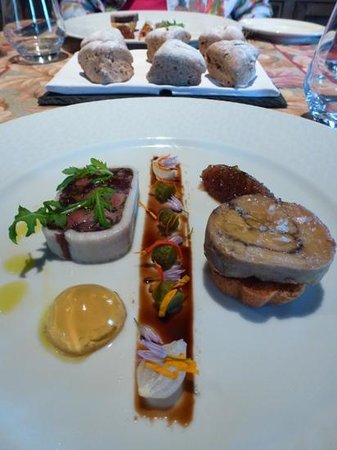 La Metairie des Songes : Foie gras entree was the best I have eaver had