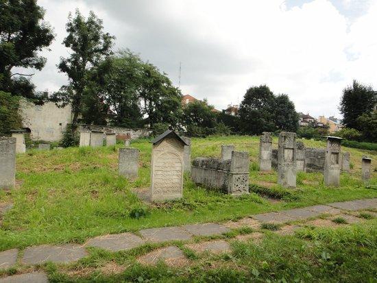Cracovia: Cementerio judio