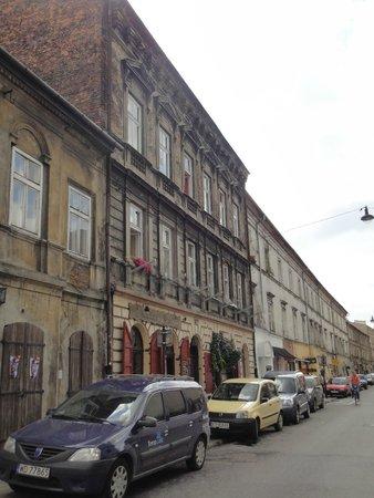 Cracovia: Casas del barrio judio