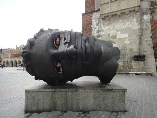 Cracovia: En la plaza