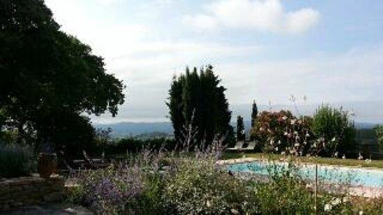 Domaine Michaud : the pool