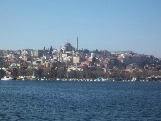 Bosphorus Strait: otra vista de Estambul