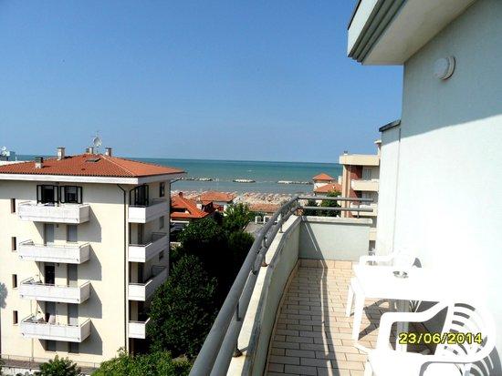 DaSamo Hotel : Blick aufs Meer