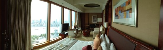 Pudong Shangri-La, East Shanghai: Grand Tower Bund View Room