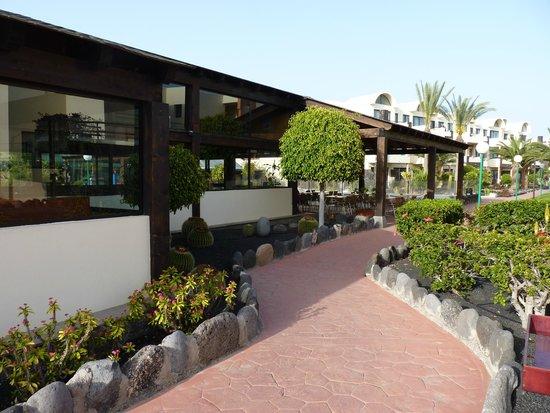 Royal Monica Playa Blanca : Bar am Abend