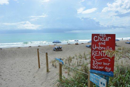 Courtyard Hutchinson Island Oceanside/Jensen Beach: Beach