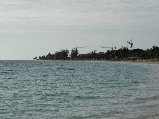 Sol Cayo Coco: Temporary view (not the lost paradise that you expect)