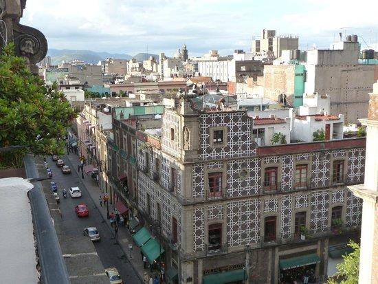 Hotel Gillow: vista dal balcone