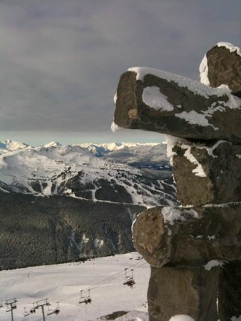 Whistler Blackcomb: the top of the world (almost)
